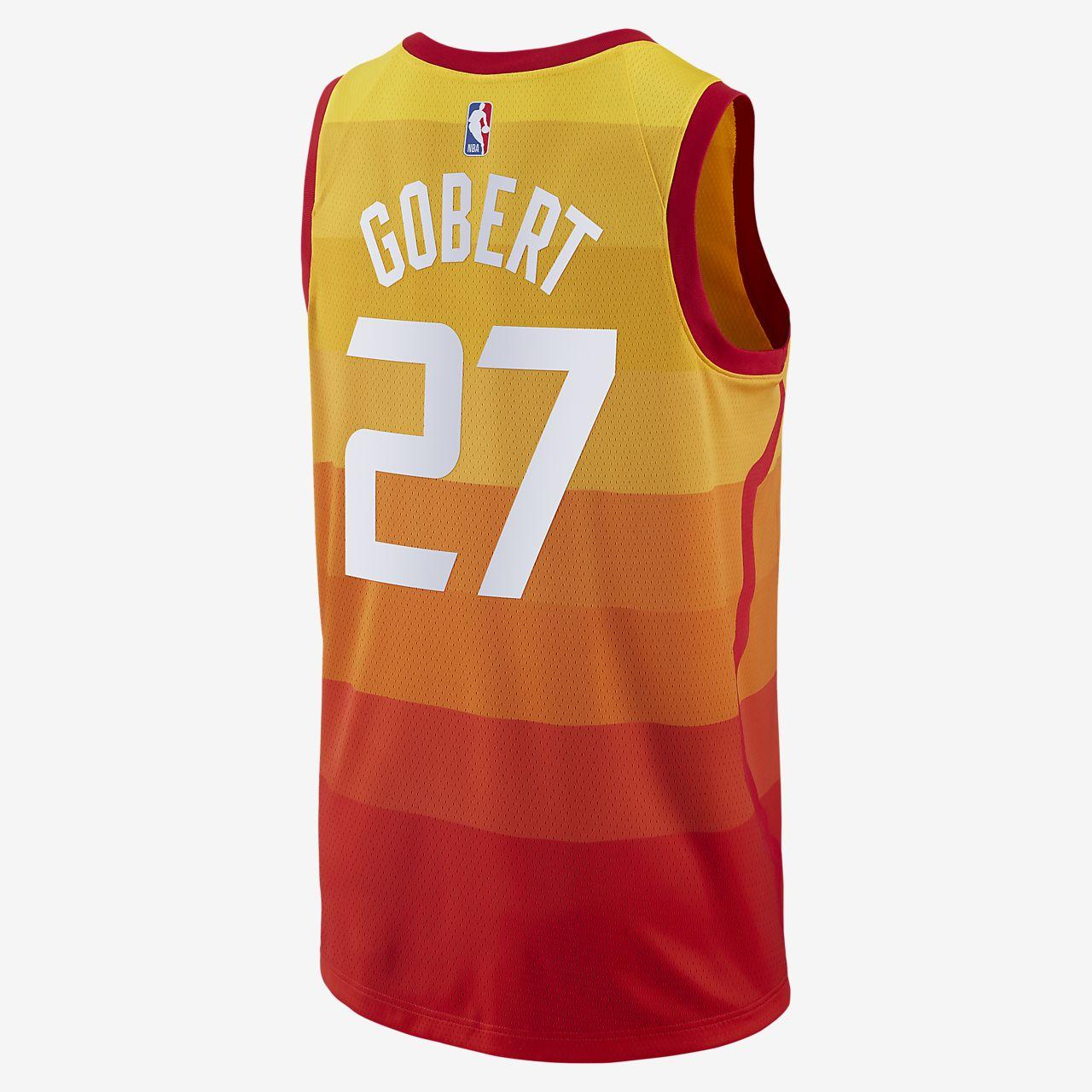 ... Rudy Gobert City Edition Swingman (Utah Jazz) Men s Nike NBA Connected  Jersey aad9f751a
