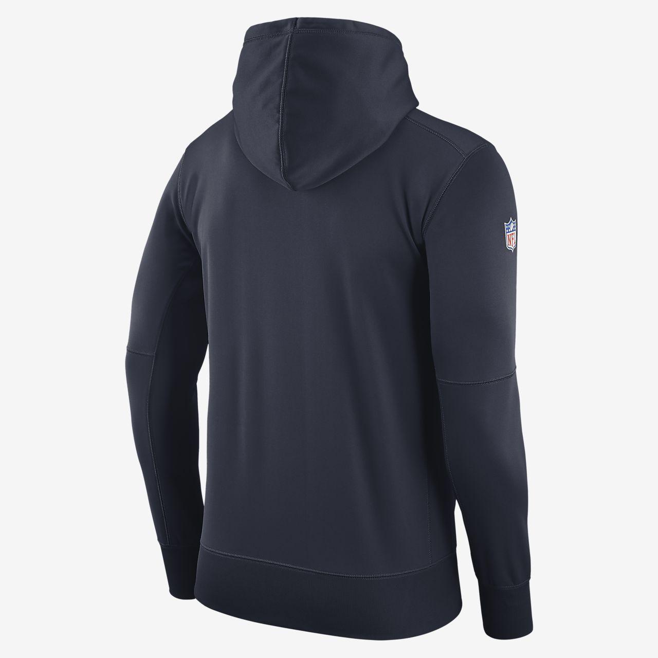 Felpa con cappuccio pullover Nike Fly Fleece (NFL Giants) Uomo