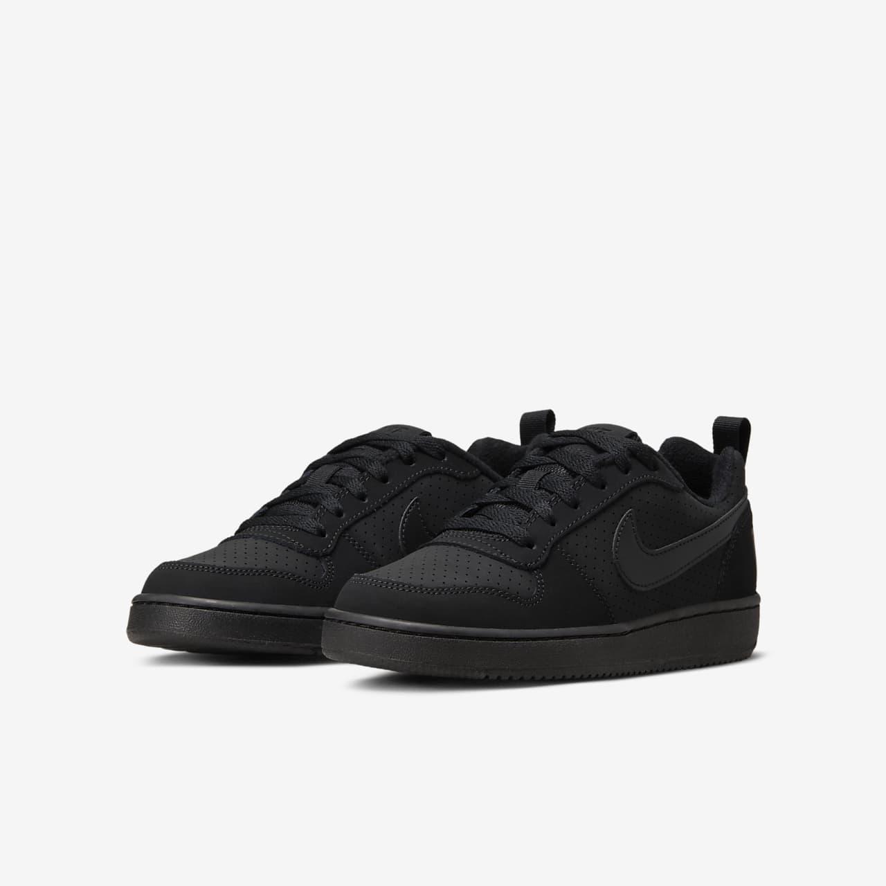 Nike DamenKinder Sneaker Court Borough Low WhiteWhite White