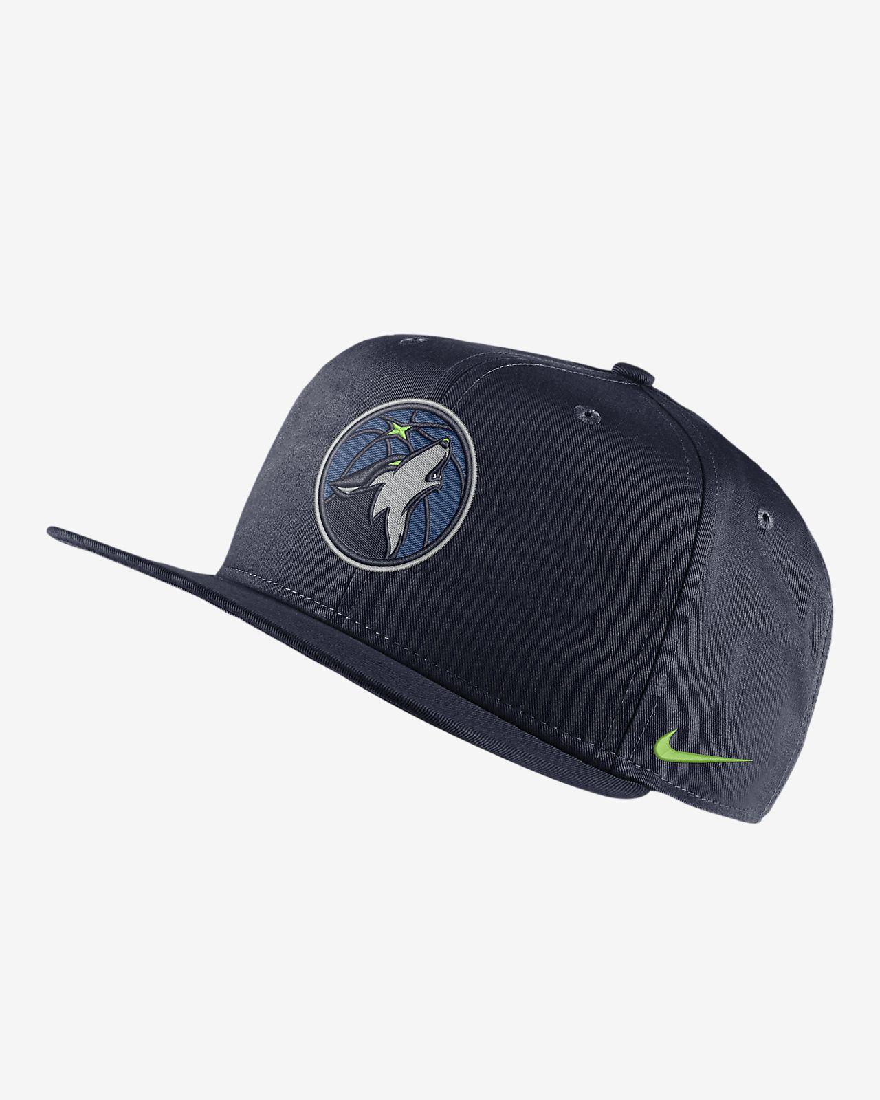 Minnesota Timberwolves Nike Pro NBA-kasket