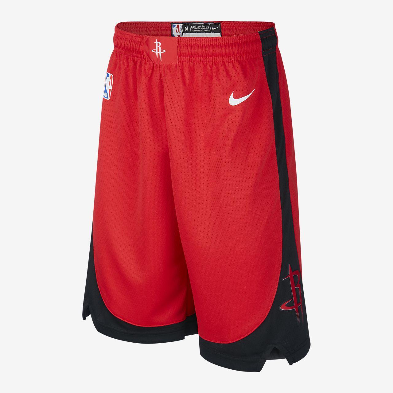 Short Nike NBA Swingman Rockets Icon Edition pour Enfant plus âgé