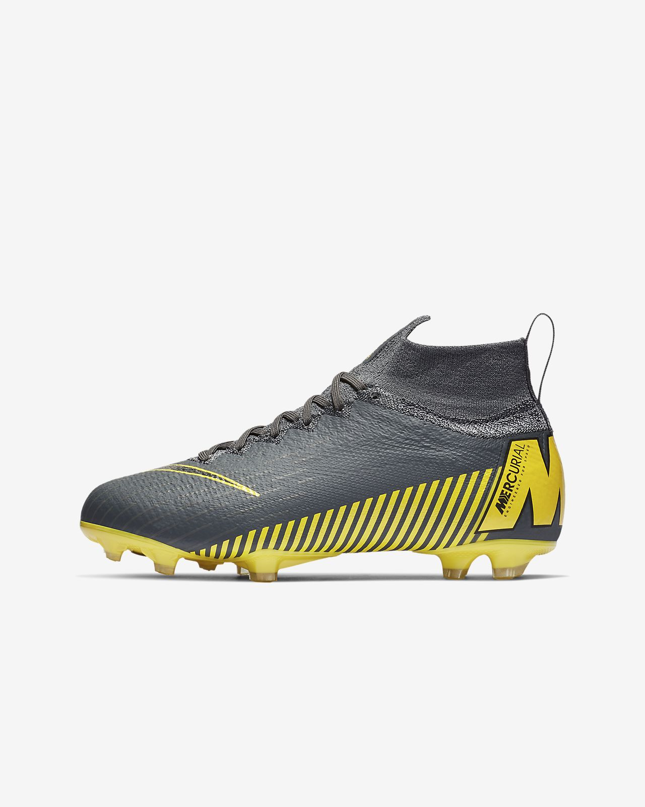 Nike Jr. Superfly 6 Elite FG Game Over fotballsko til gress til store barn