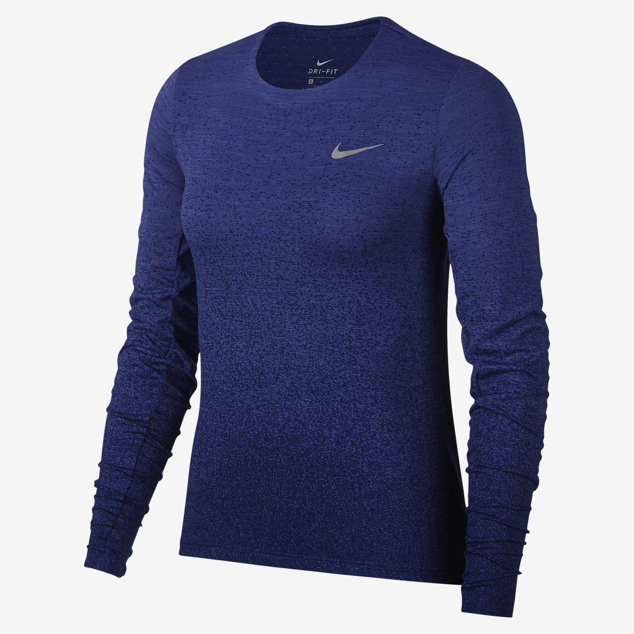 Femme Running Haut De À Manches Fr Medalist Nike Longues Pour 78Hq85