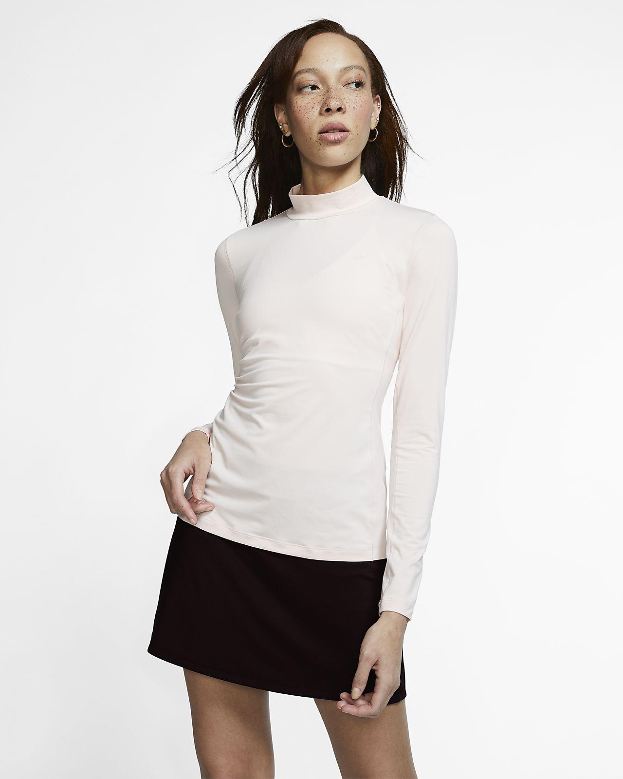 Nike Dri-FIT UV Camiseta de golf de manga larga - Mujer
