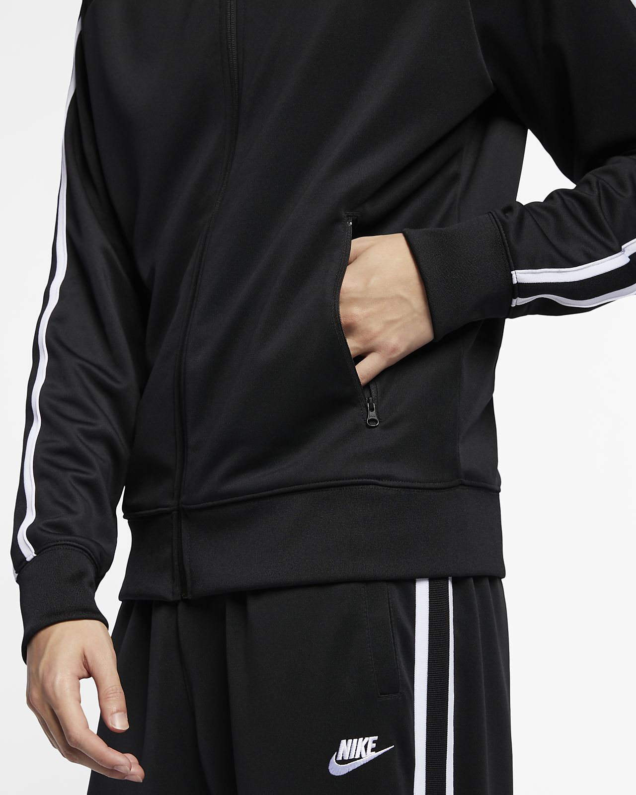 nike sportswear n98 jacket white men