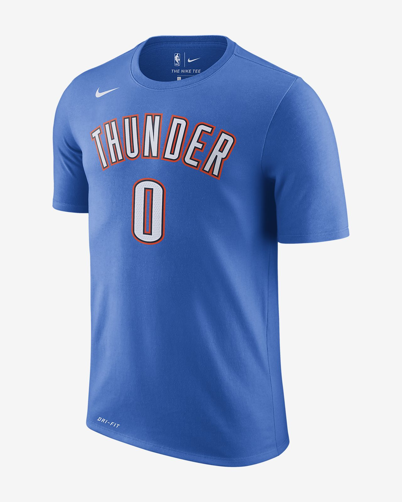 exclusive deals shopping half price Russell Westbrook Oklahoma City Thunder Nike Dri-FIT Men's NBA T-Shirt
