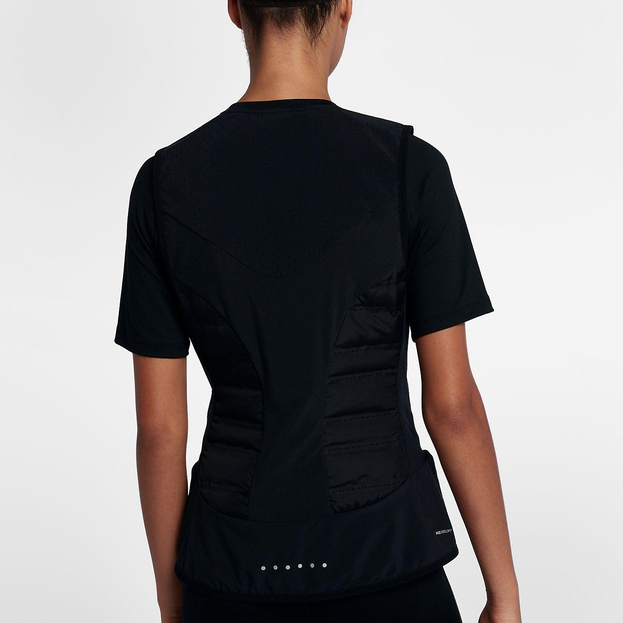 Nike Vapor Reflective Women S Running Jacket Ho14 Black