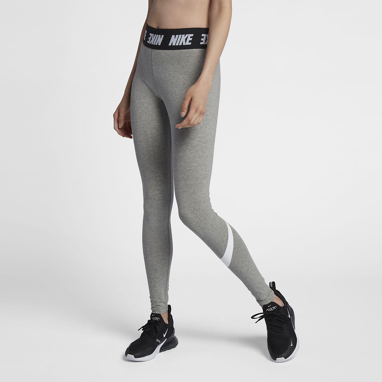Leggings Nike Sportswear Club med hög midja för kvinnor