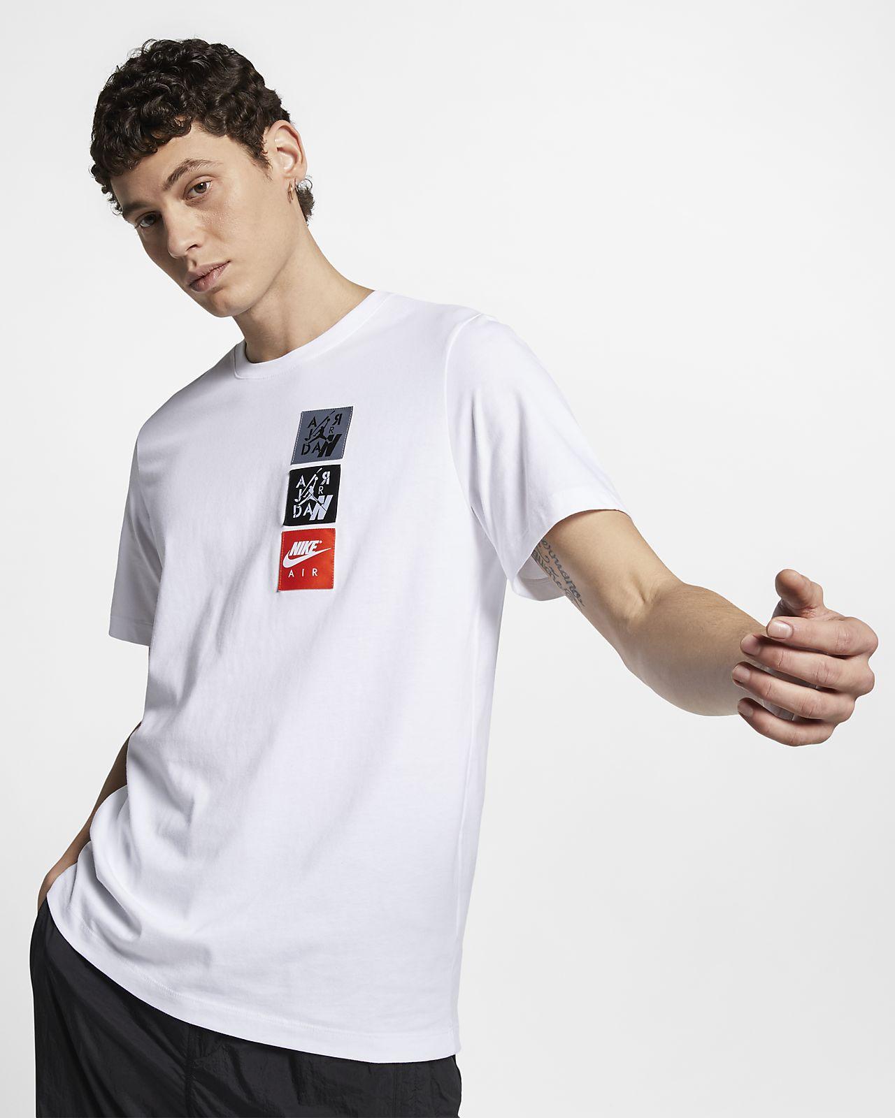 T-shirt męski Jordan Legacy AJ4 Woven Labels