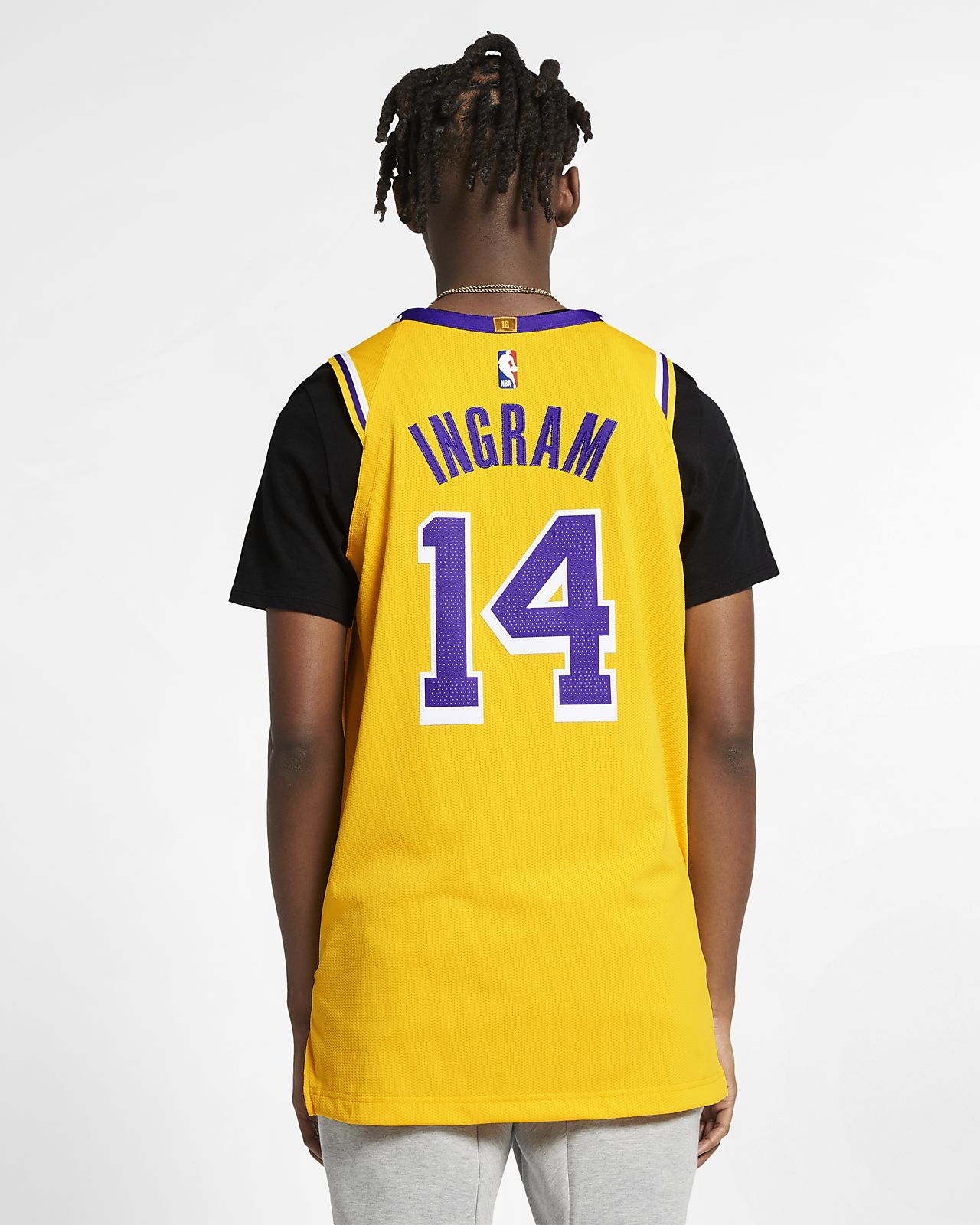 new arrival 751a7 e5195 Brandon Ingram Icon Edition Authentic (Los Angeles Lakers) Men's Nike NBA  Connected Jersey