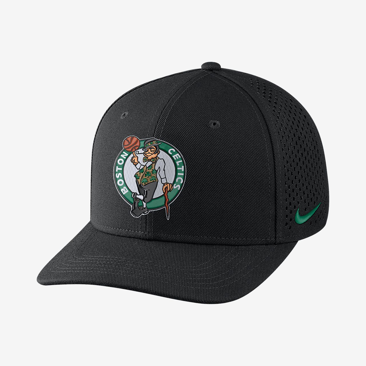 74a53fce Boston Celtics Nike AeroBill Classic99 Unisex Adjustable NBA Hat ...