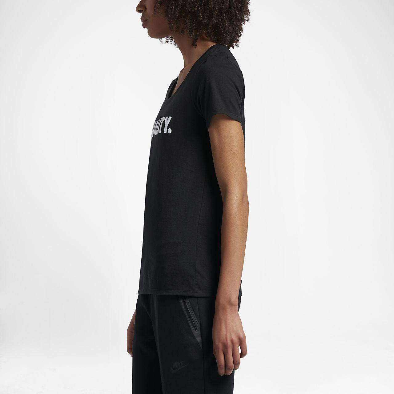 tee shirt nike equality pour femme ca. Black Bedroom Furniture Sets. Home Design Ideas