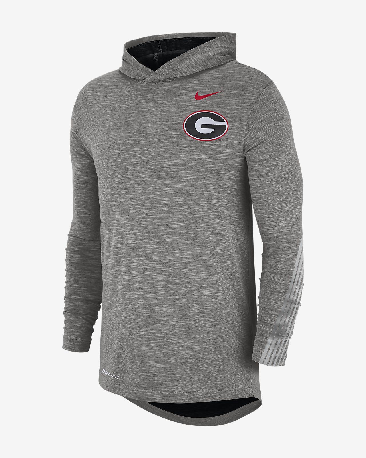 Nike College (Georgia) Men's Long-Sleeve Hooded T-Shirt