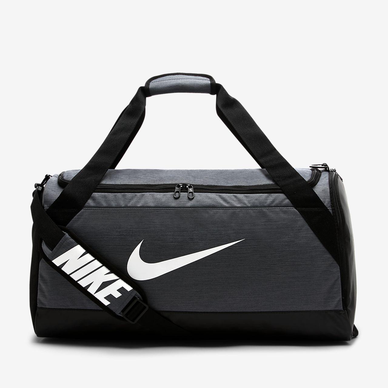 Sac de sport de training Nike Brasilia (taille moyenne)