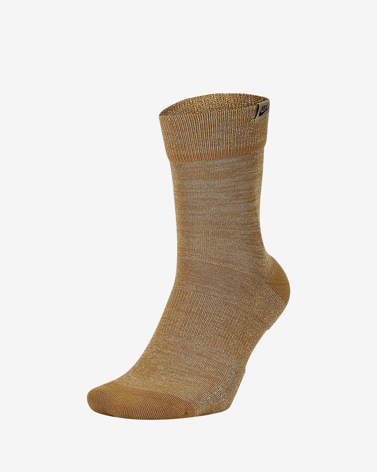 Nike SNEAKR Sox Metallic Crew sokken