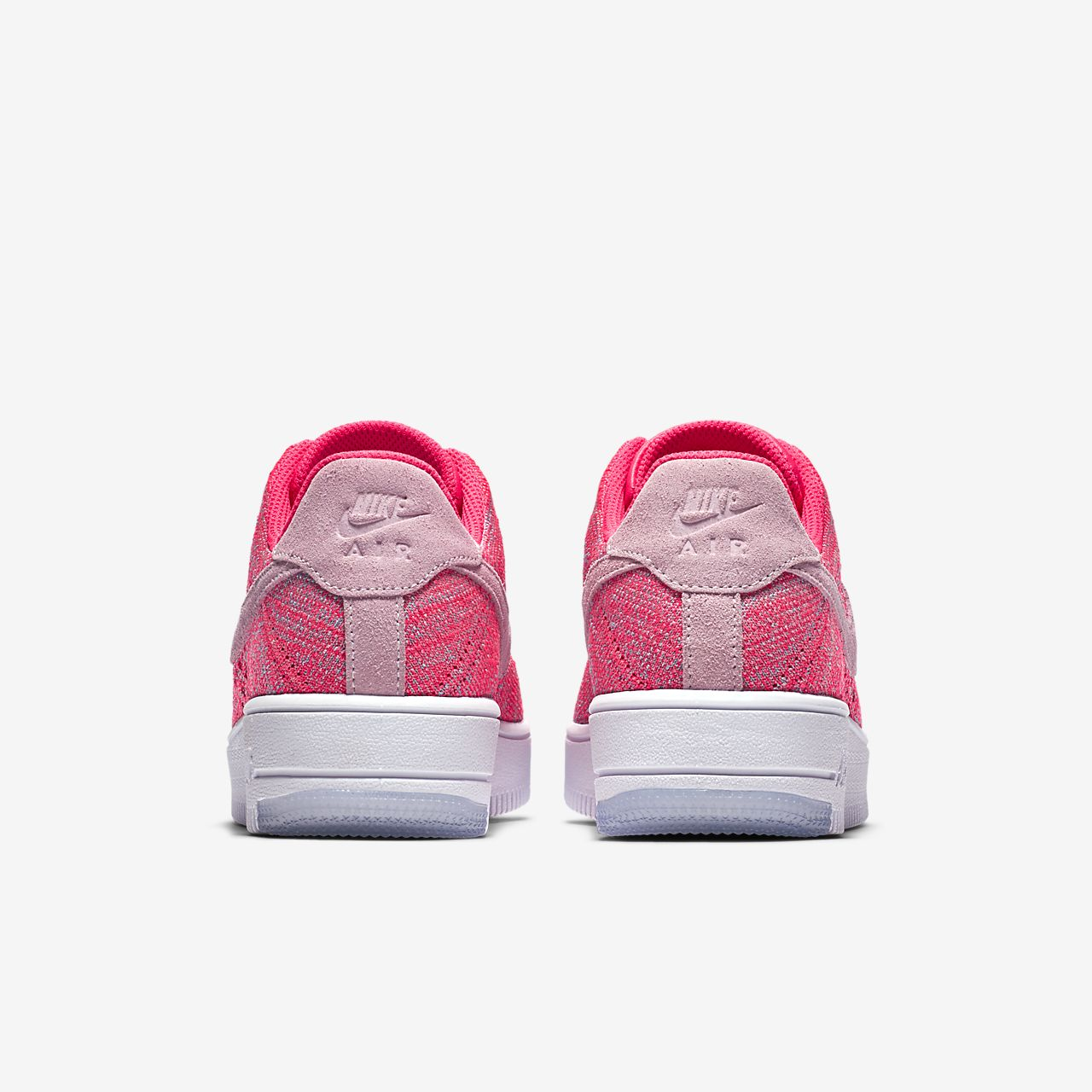 Nike Air Force 1 Flyknit Low Damenschuh - Pink