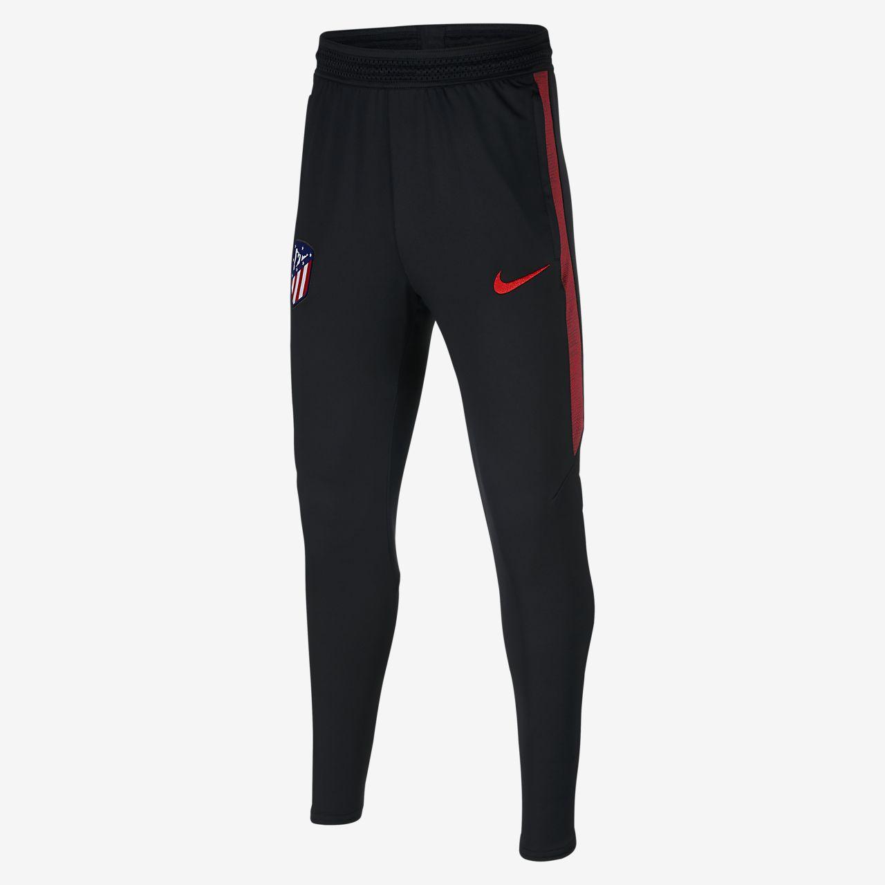 Fotbalové kalhoty Nike Dri-FIT Atlético de Madrid Strike pro větší děti