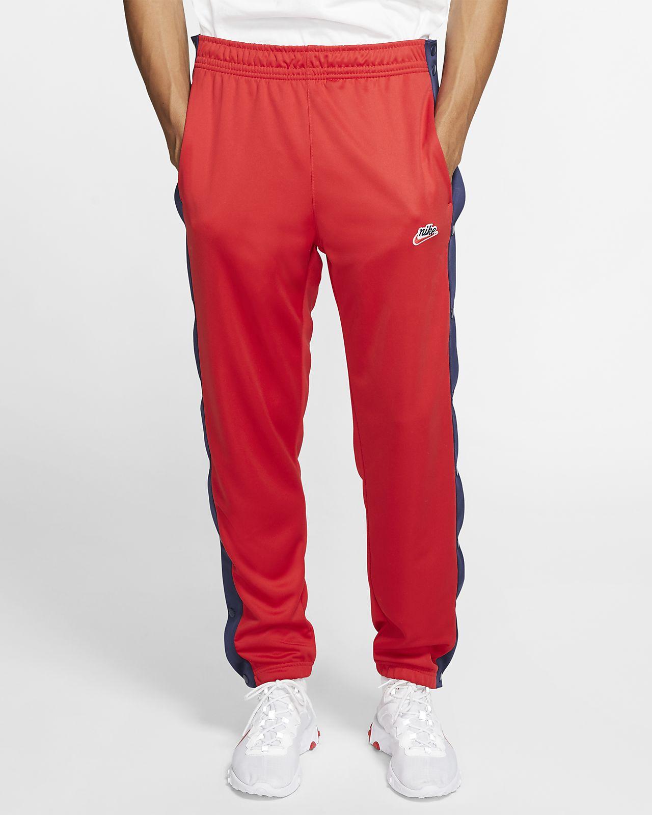 Pánské kalhoty s rozepínacími nohavicemi Nike Sportswear