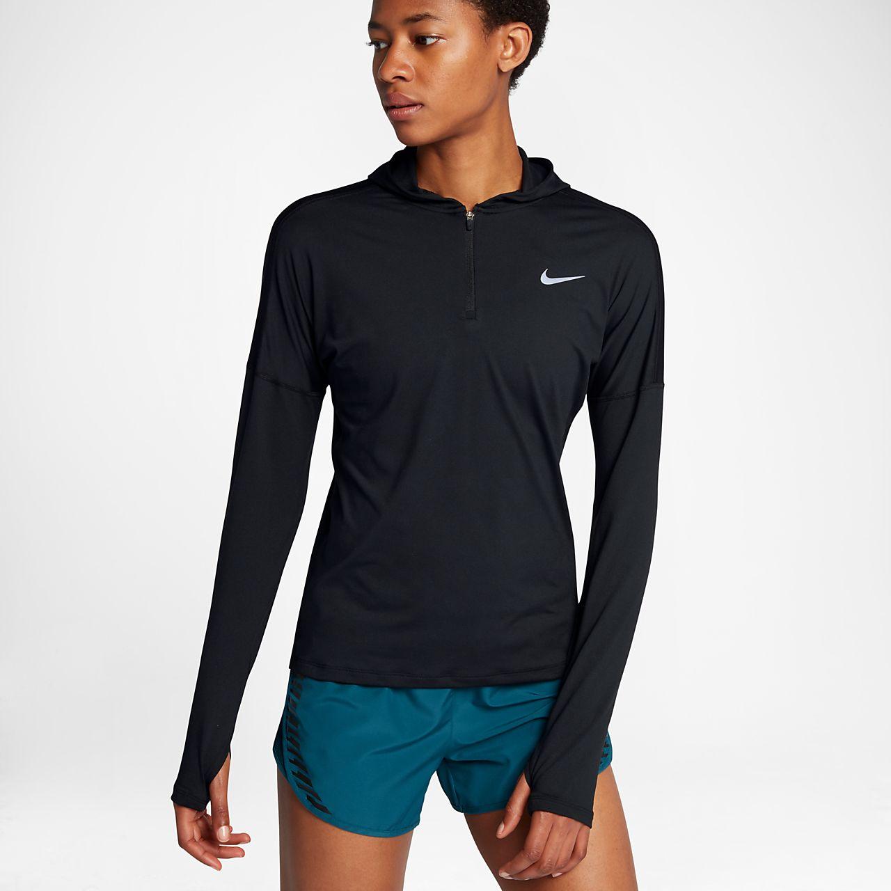 Nike Dri-FIT Element Women Running Half-Zip Hoodie