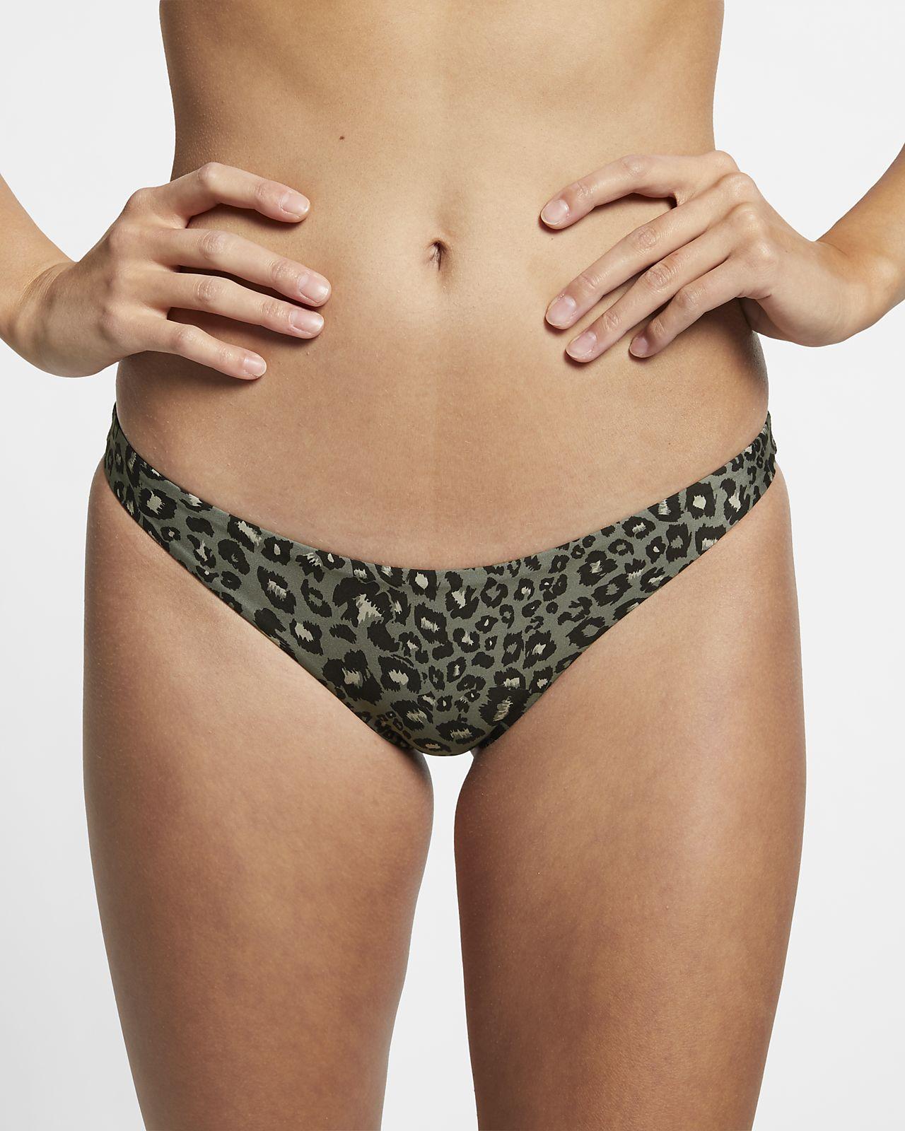 Hurley Quick Dry Damen-Surfhose mit Leopardenprint