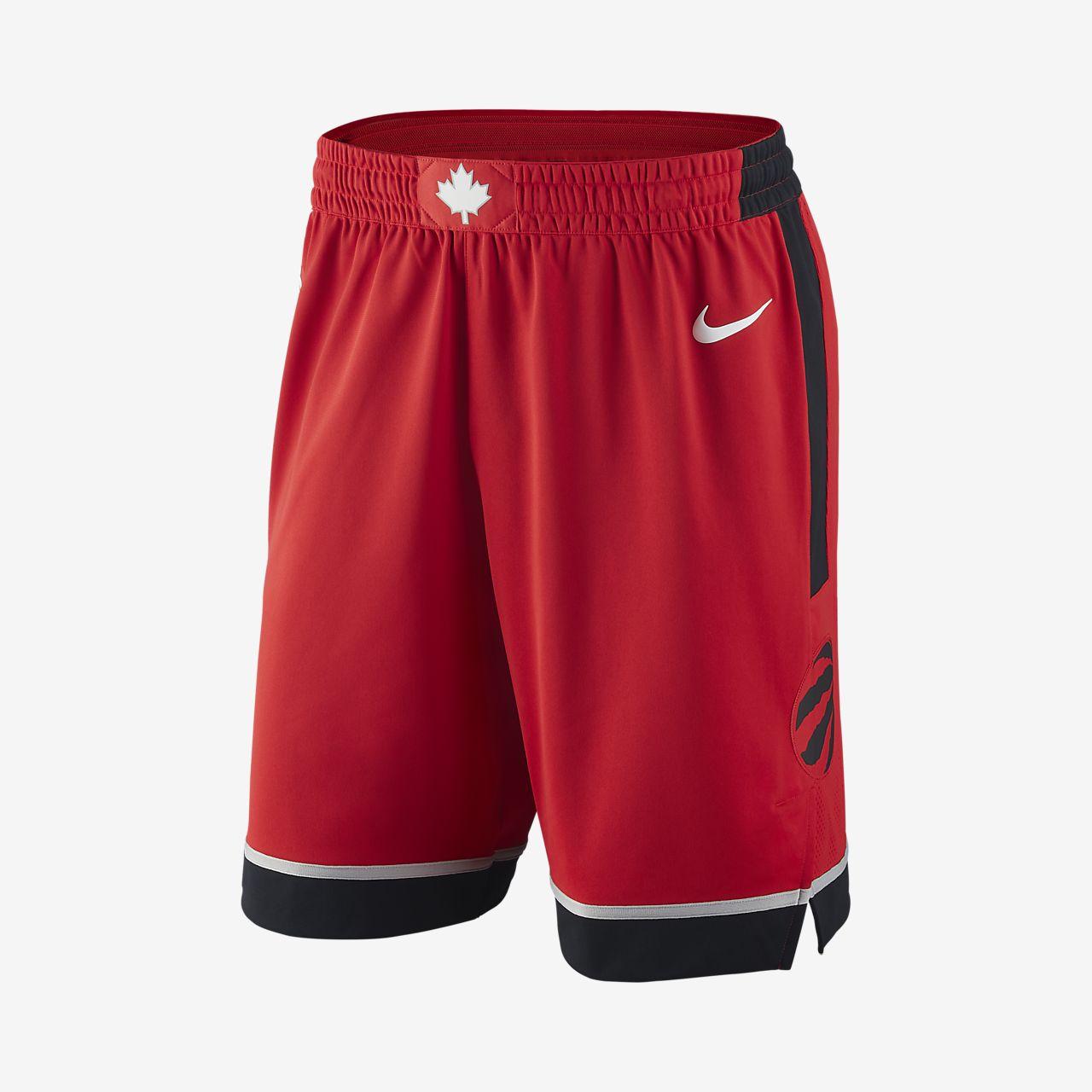 Short de NBA Toronto Raptors Nike Icon Edition Authentic pour Homme
