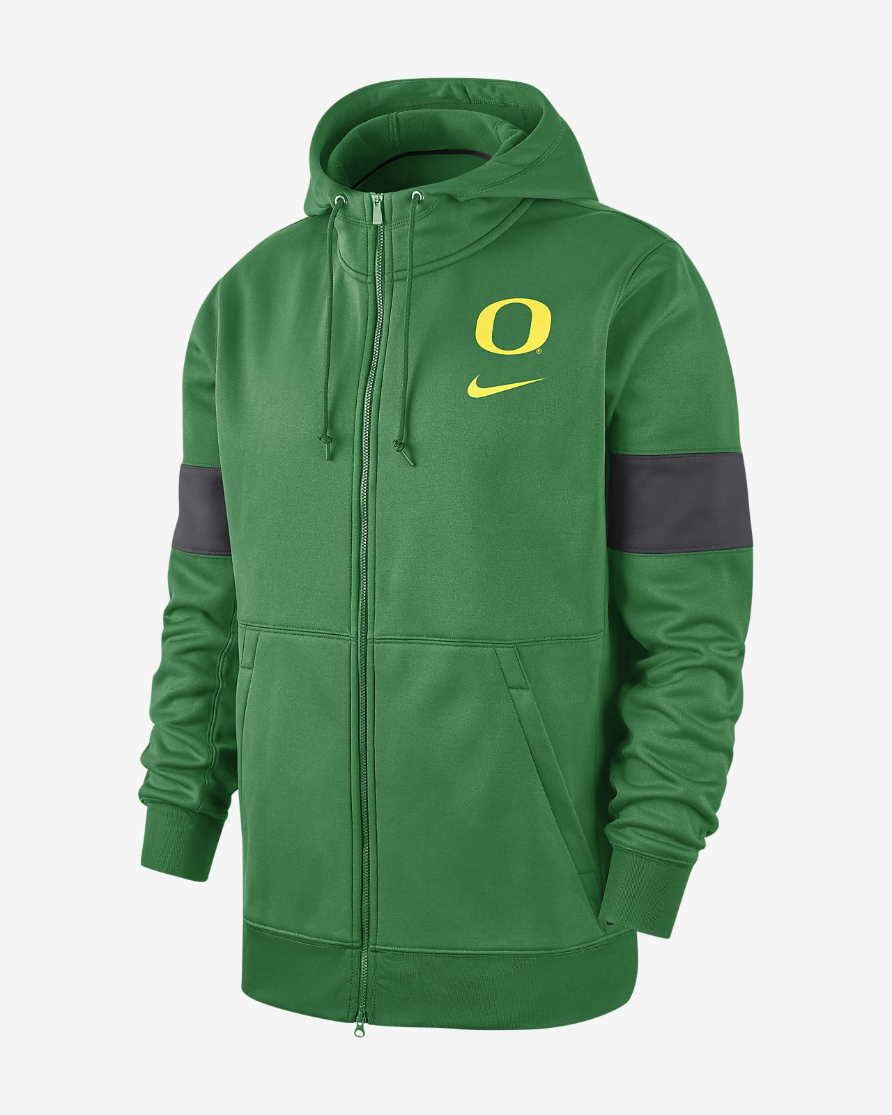 Nike College Therma (Oregon) Men's Full-Zip Hoodie