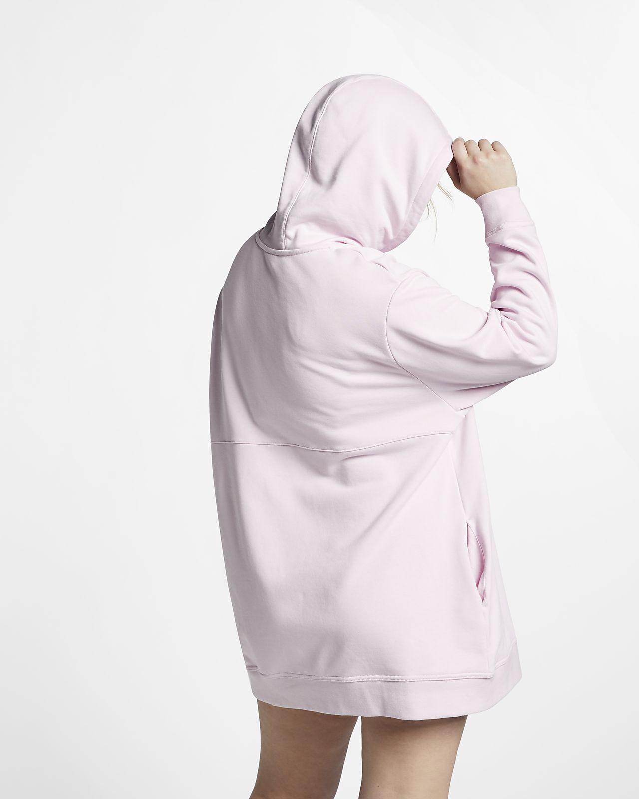 8ef7e966714 Nike Sportswear Swoosh Women s French Terry Dress (Plus Size). Nike ...