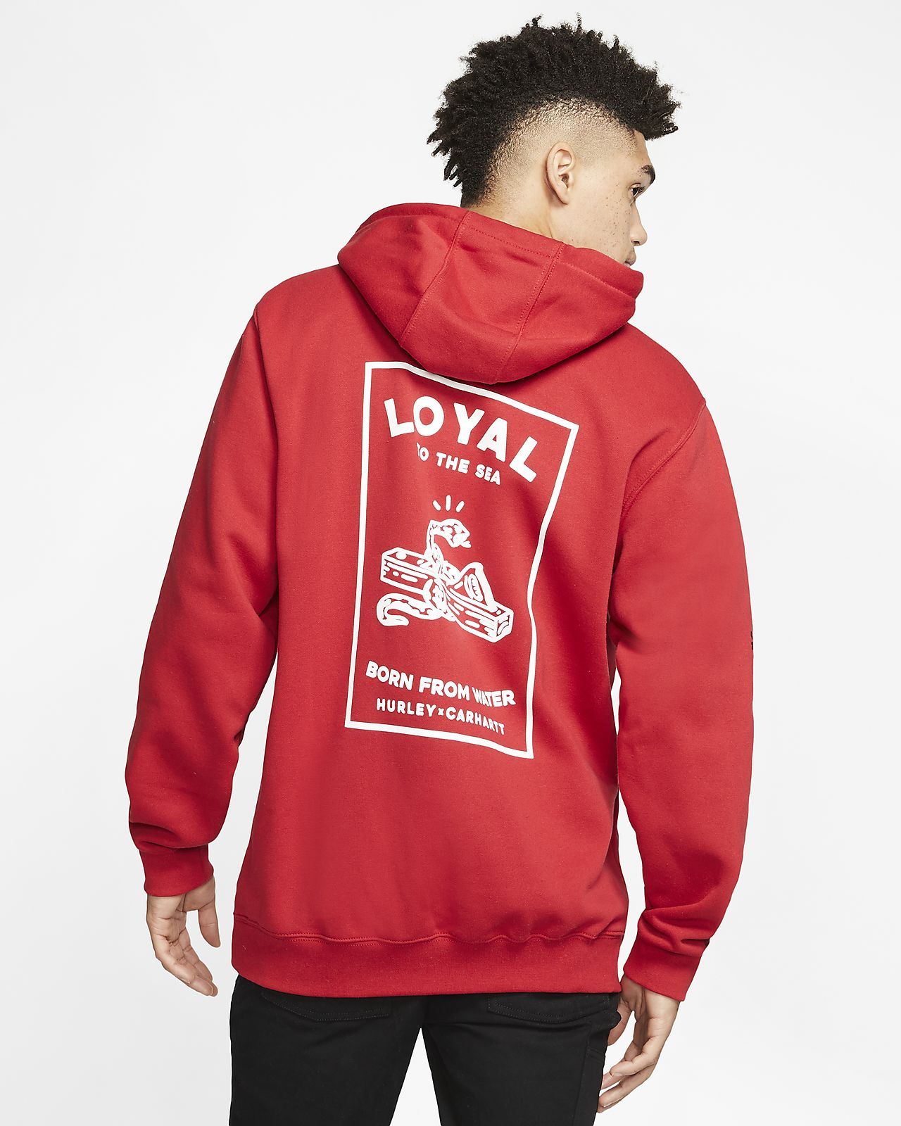 Hurley x Carhartt Loyal Men's Pullover Hoodie