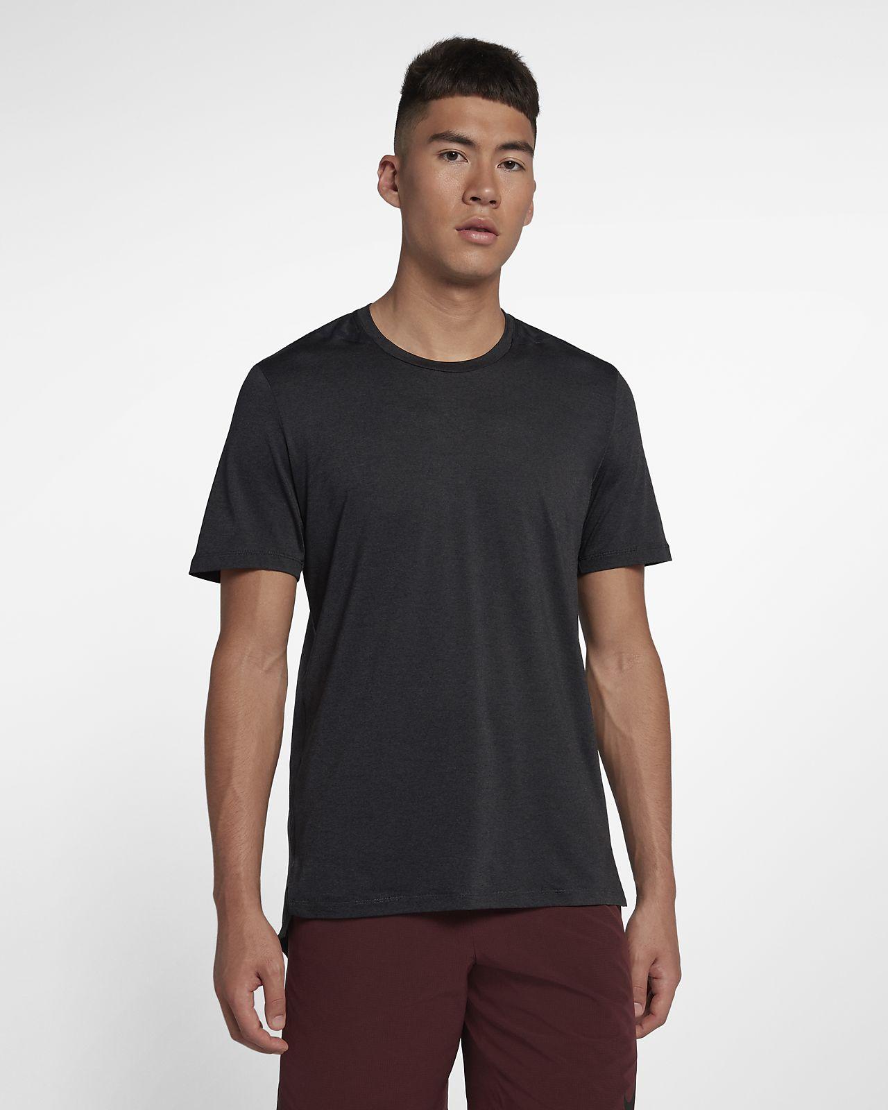 Kortærmet Nike Dri-FIT Premium-træningsoverdel til mænd