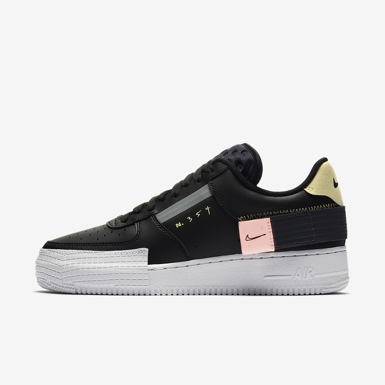 Buty Nike AF1 TYPE Black (CI0054 001) | Buty  Męskie