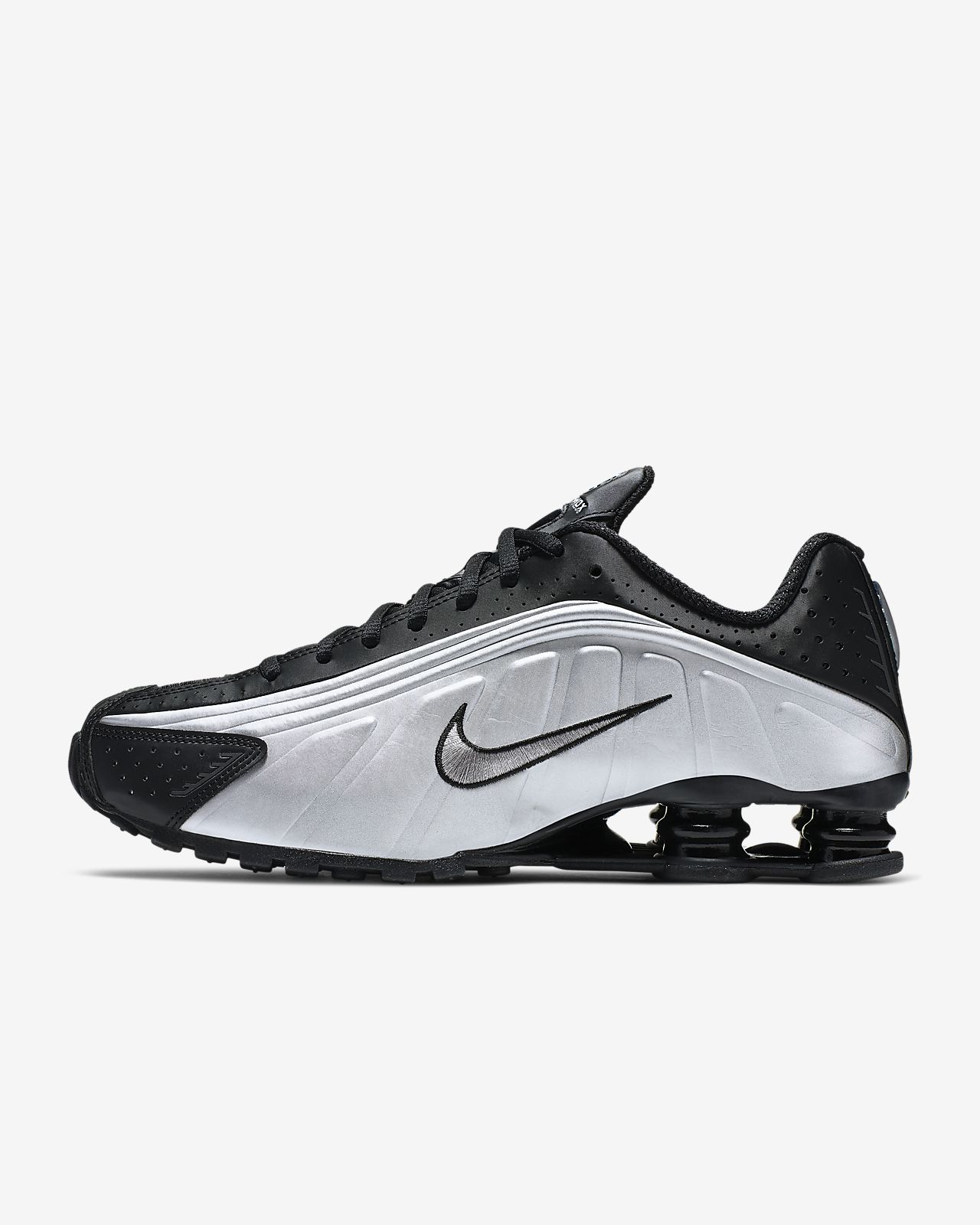 Advanced Design Nike Shox Deliver White Silver Black Mens Running Shoes Sneakers DC007927