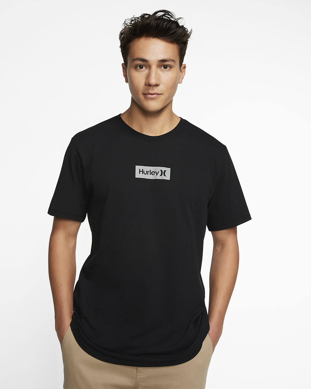 T-shirt męski Hurley Dri-FIT One And Only Small Box Reflective