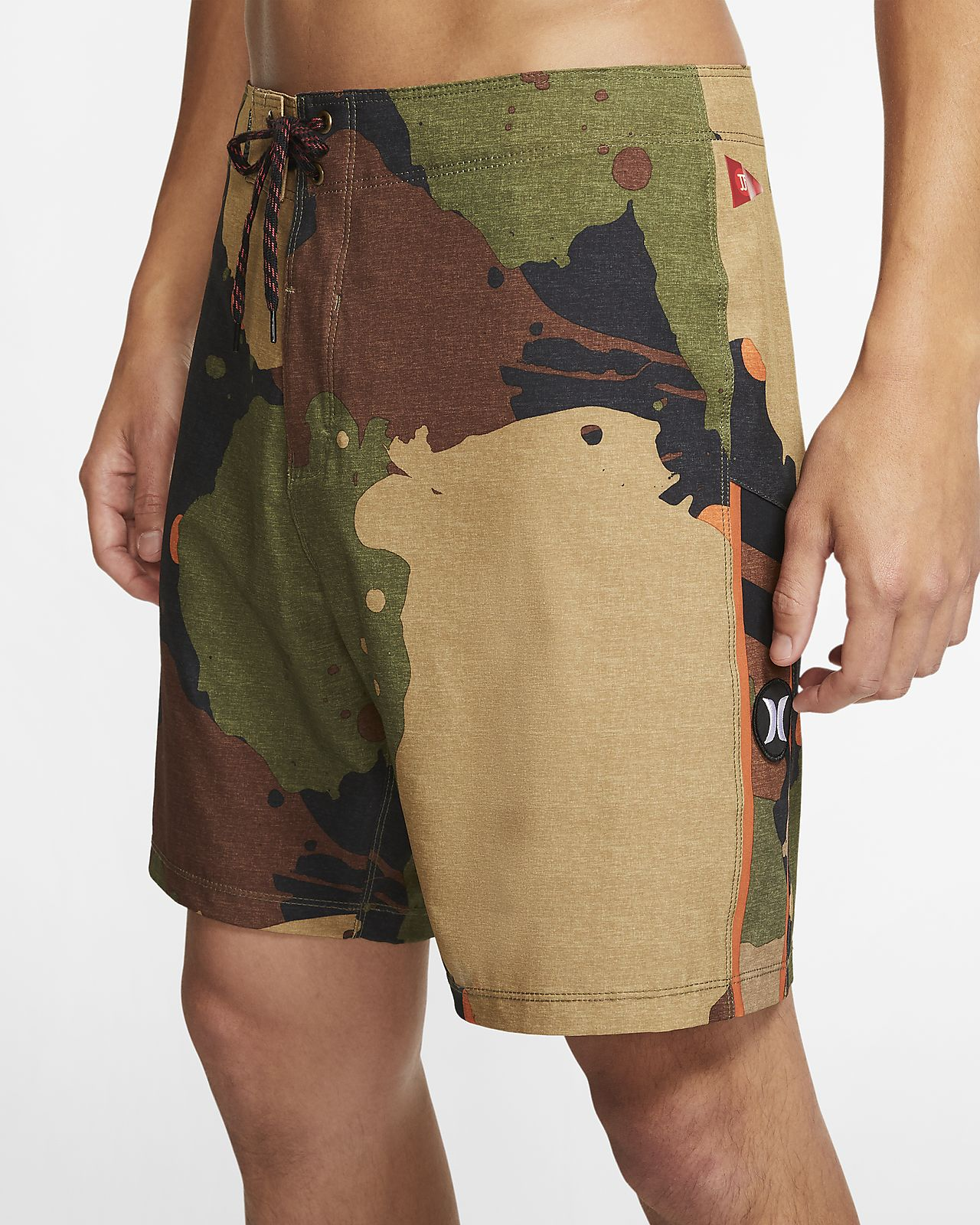 Hurley Phantom JJF5 'Camo' Men's 46cm (approx.) Boardshorts