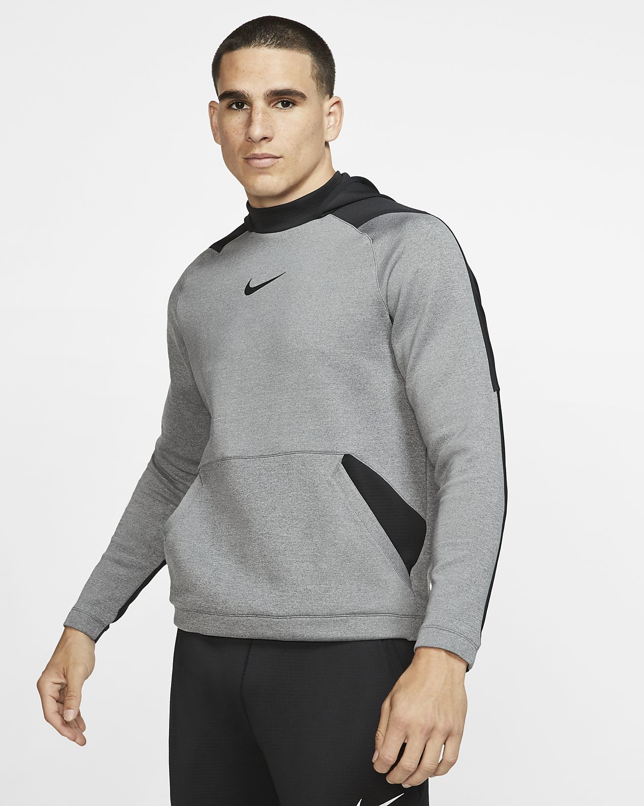 Nike Pro Men's Pullover Fleece Hoodie