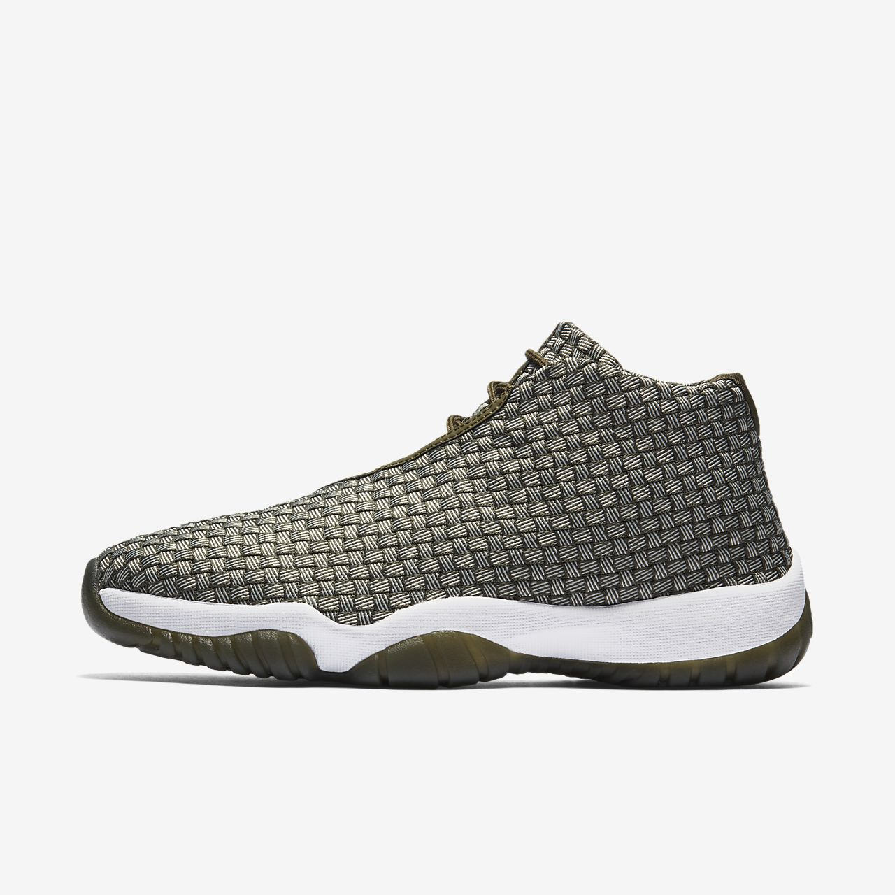 Nike Air Jordan Future Woven Olive Dark Green 656503 305 Men