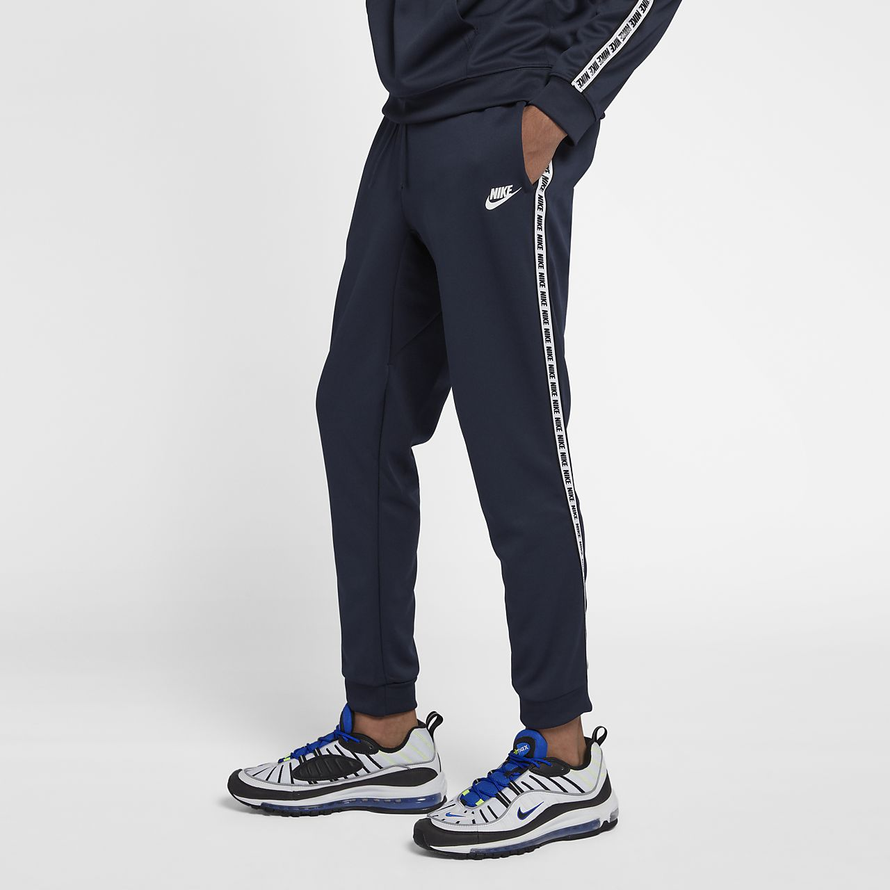 Pantalones de tejido Fleece para hombre Nike Sportswear