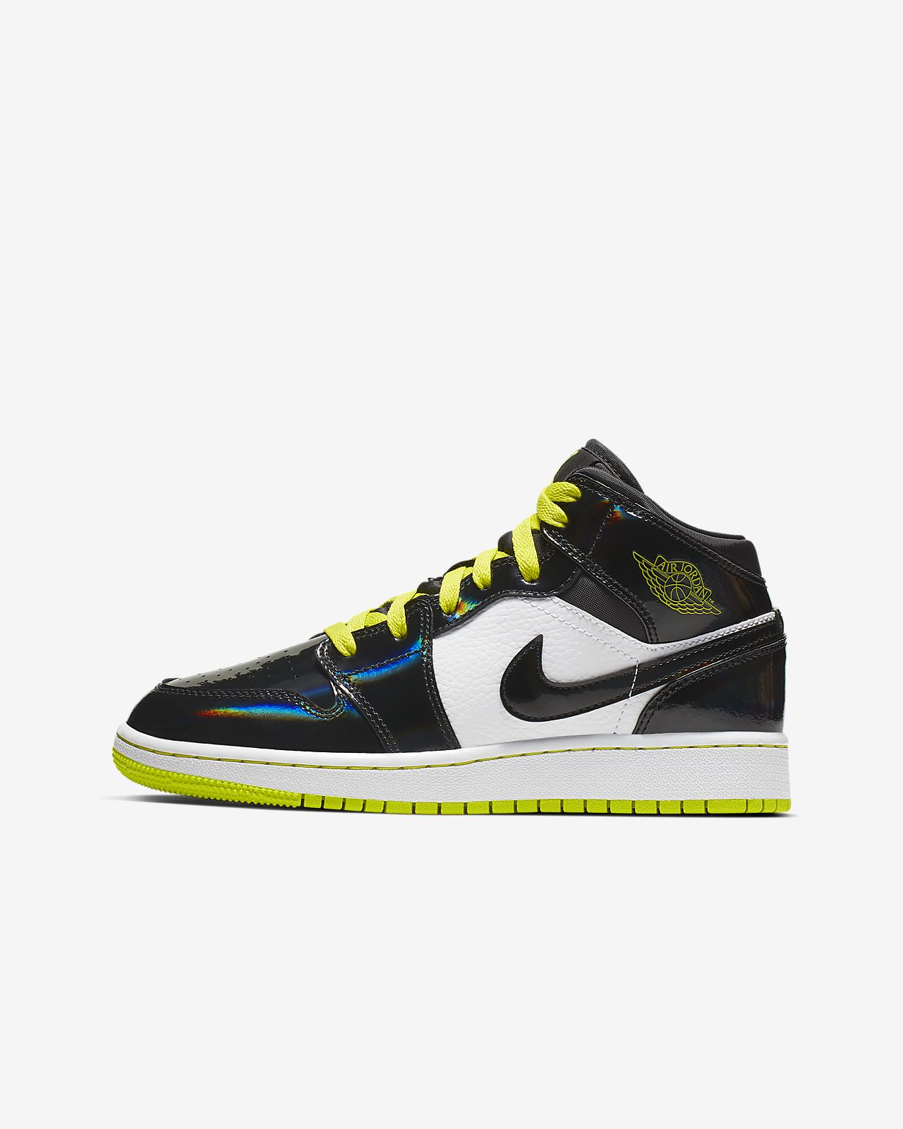 Air Jordan 1 Mid SE Big Kids' Shoe