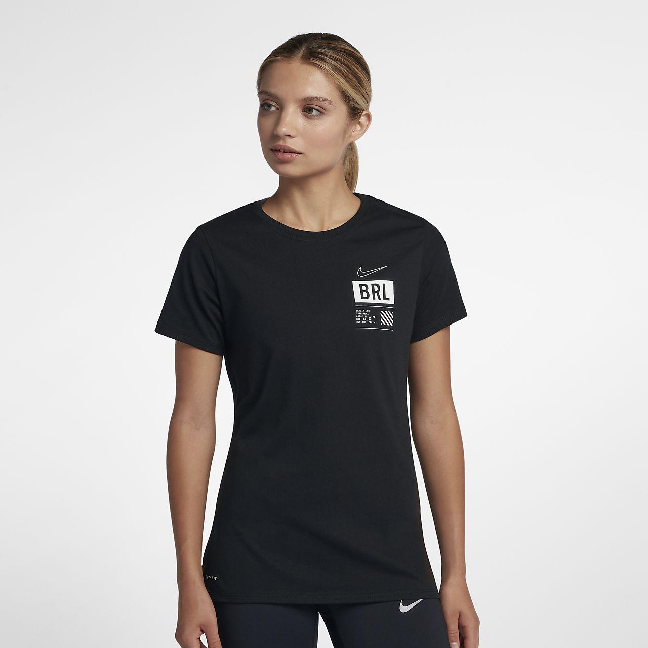 T-shirt da running Nike Dri-FIT (Berlin) - Donna