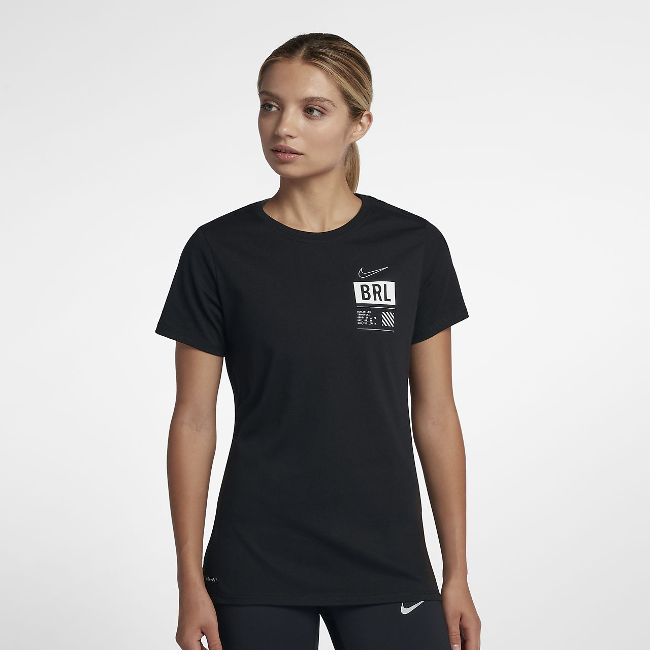 Tee-shirt de running Nike Dri-FIT (Berlin) pour Femme