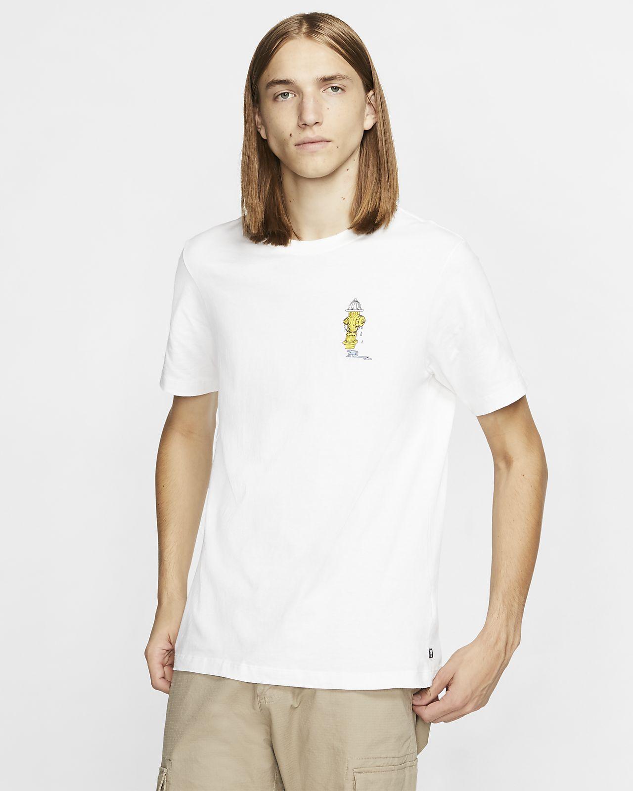 T-shirt de skateboard Nike SB para homem