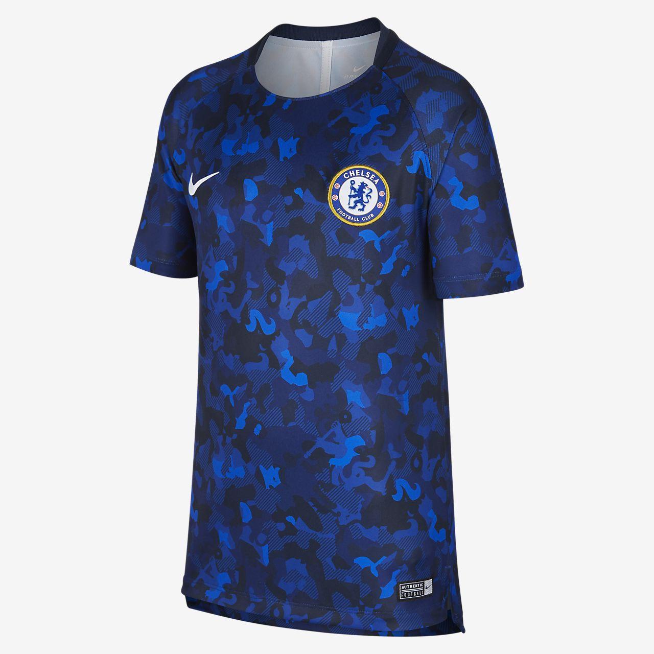 Chelsea FC Dri-FIT Squad Older Kids' Football Top