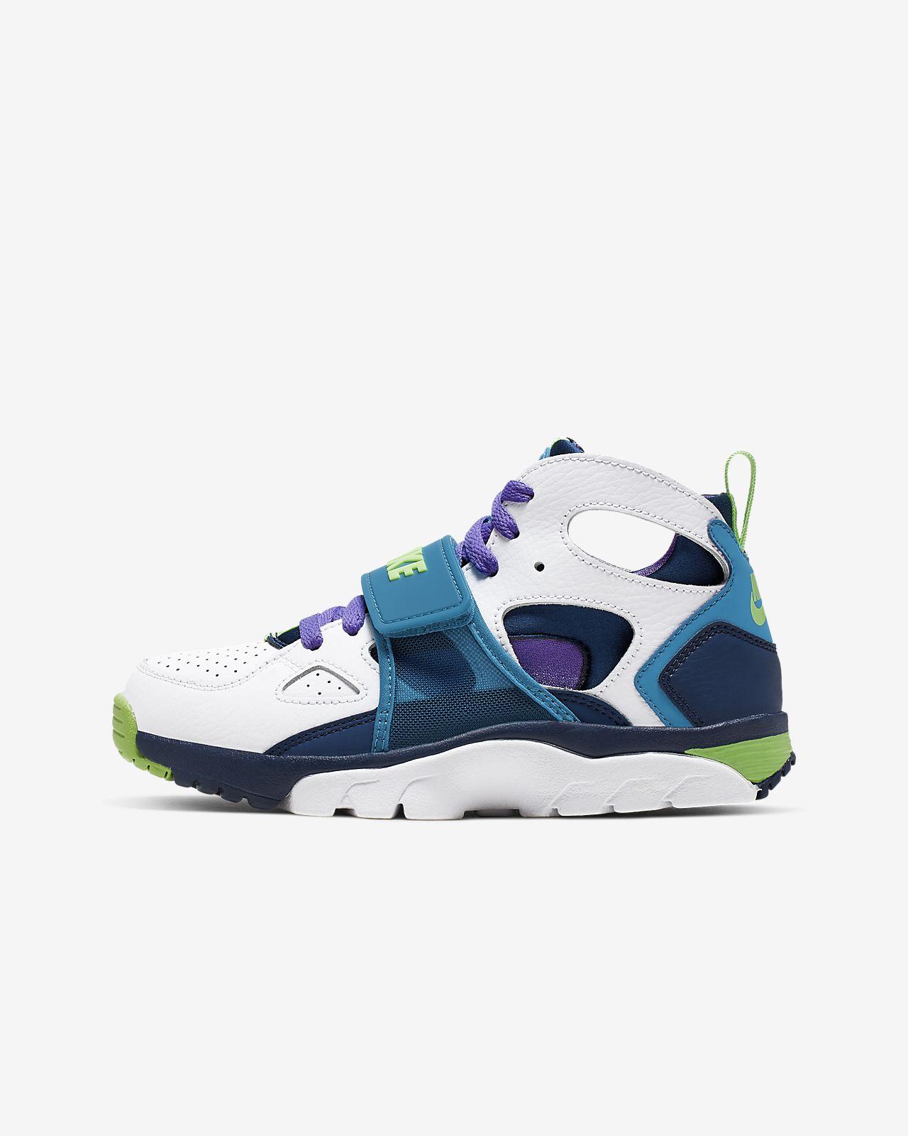 the latest 792cb d81ca ... Nike Trainer Huarache Big Kids  Shoe