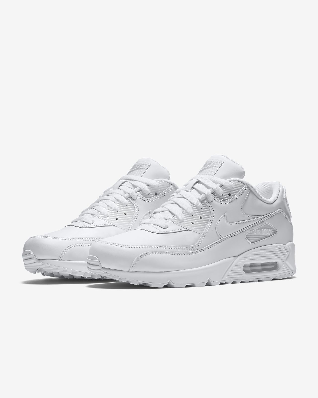 the latest fe0d9 2cb5d ... Chaussure Nike Air Max 90 Leather pour Homme