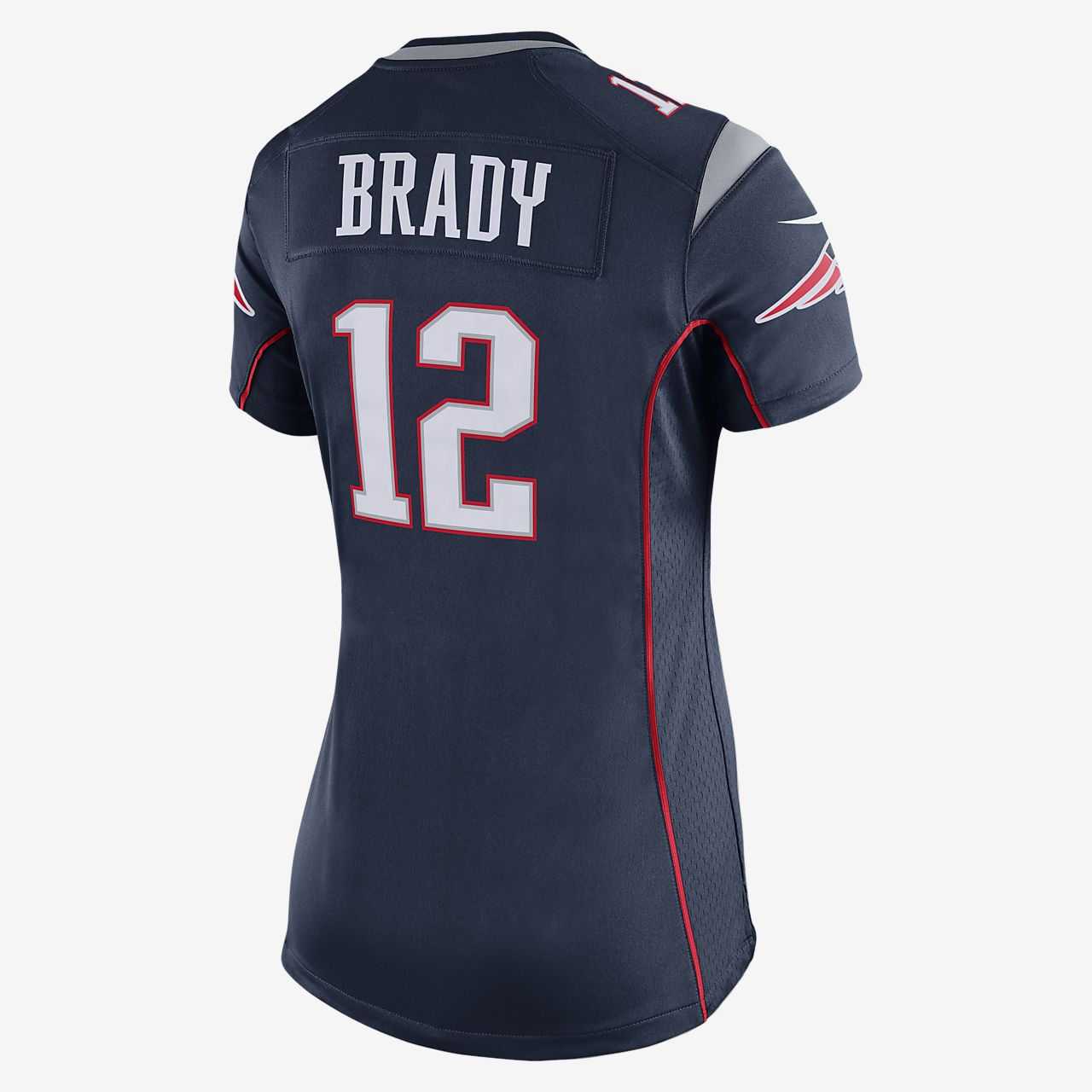 3cf9f65b NFL New England Patriots (Tom Brady) Women's American Football Home Game  Jersey