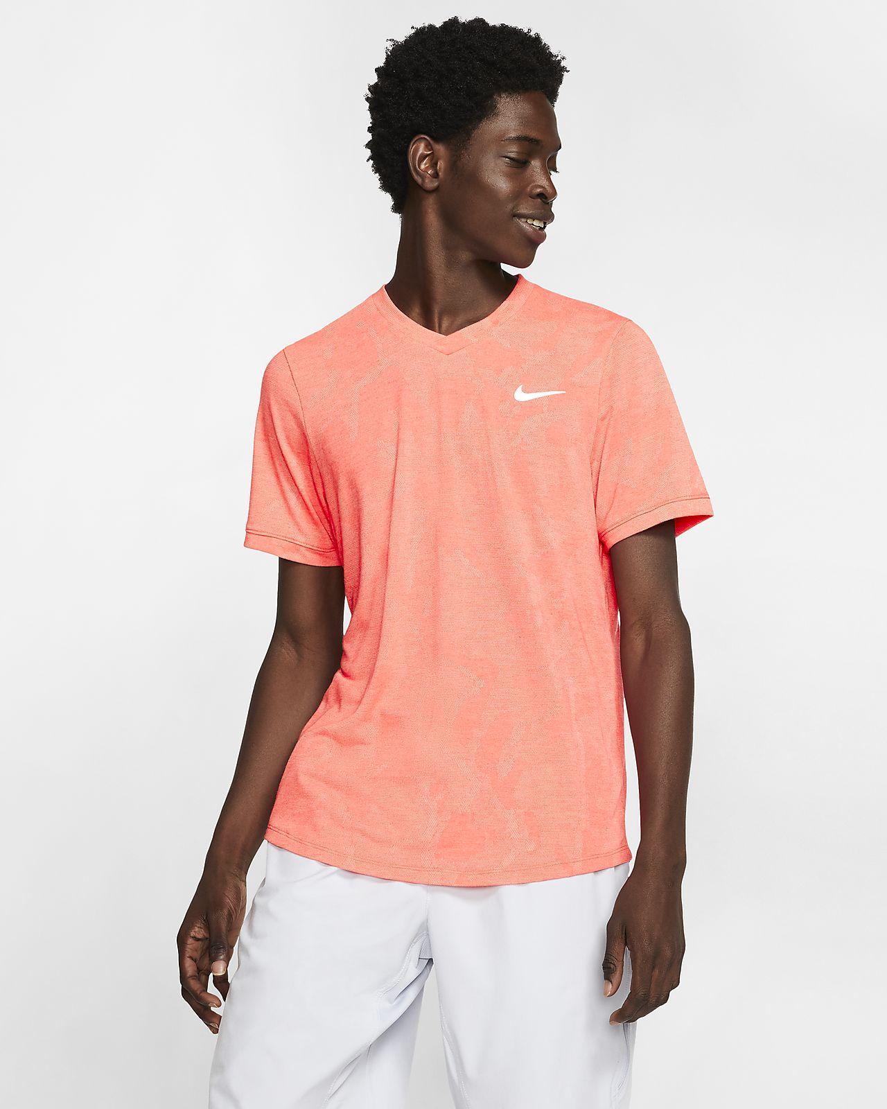 Maglia da tennis a manica corta NikeCourt Dri-FIT Challenger - Uomo