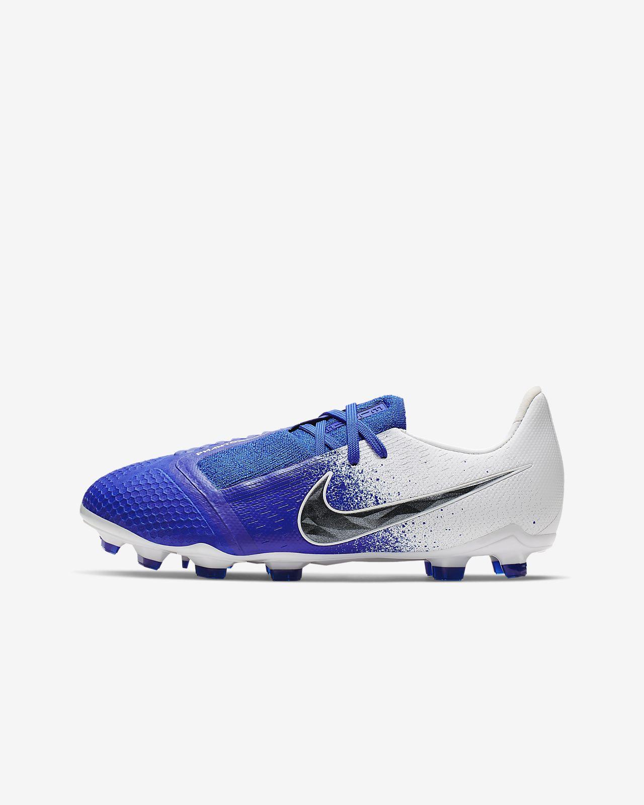 Nike Jr. Phantom Venom Elite FG-fodboldstøvle til store børn (græs)
