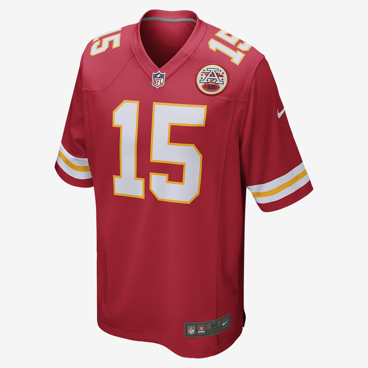 new arrival 2c44b 8b712 NFL Kansas City Chiefs (Patrick Mahomes) Men's Game Football Jersey