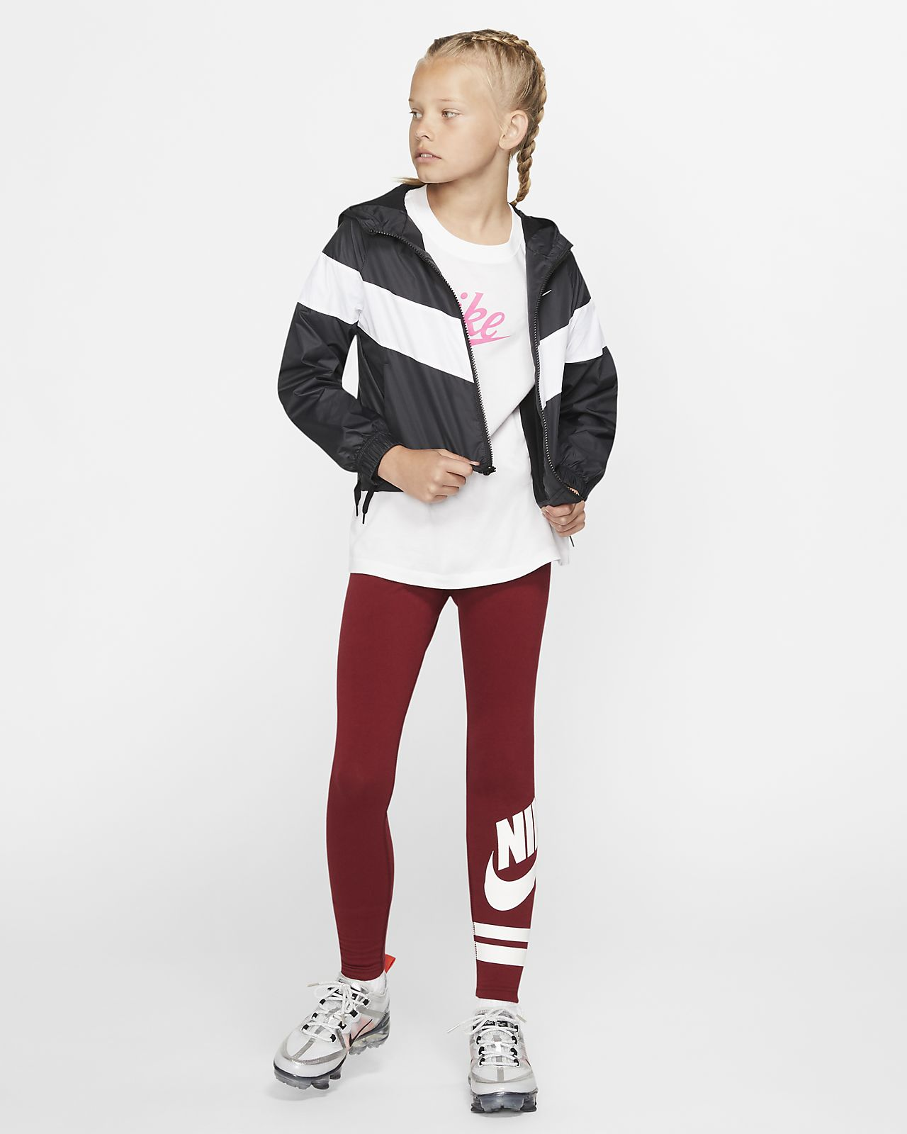 sells catch clearance sale Nike Sportswear Windrunner Big Kids' (Girls') Jacket