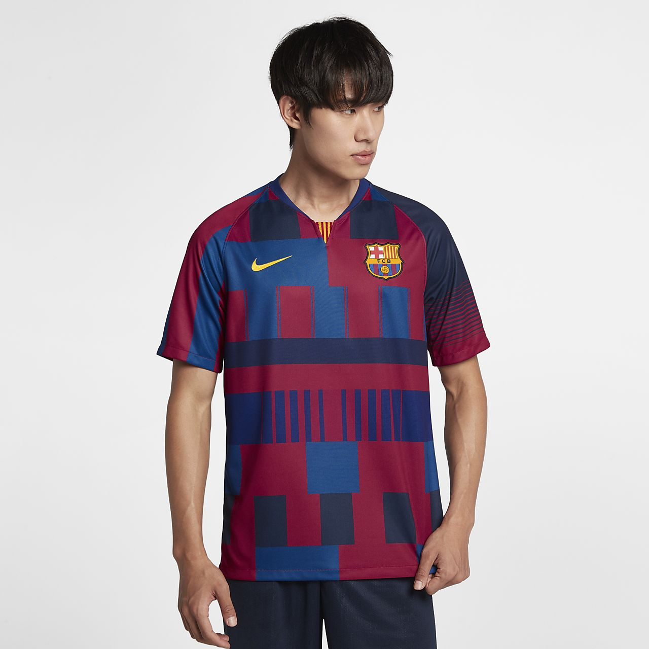 0930982e3 FC Barcelona 20th Anniversary Men's Shirt. Nike.com AE