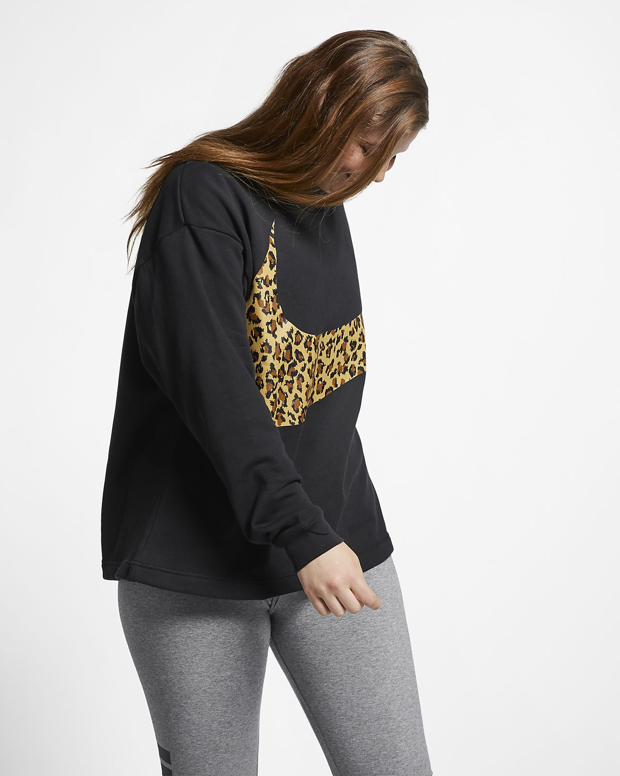 Redondo Nike Cuello Sportswear Grande Mujertalla Animalier Suéter qGUpVjSzML